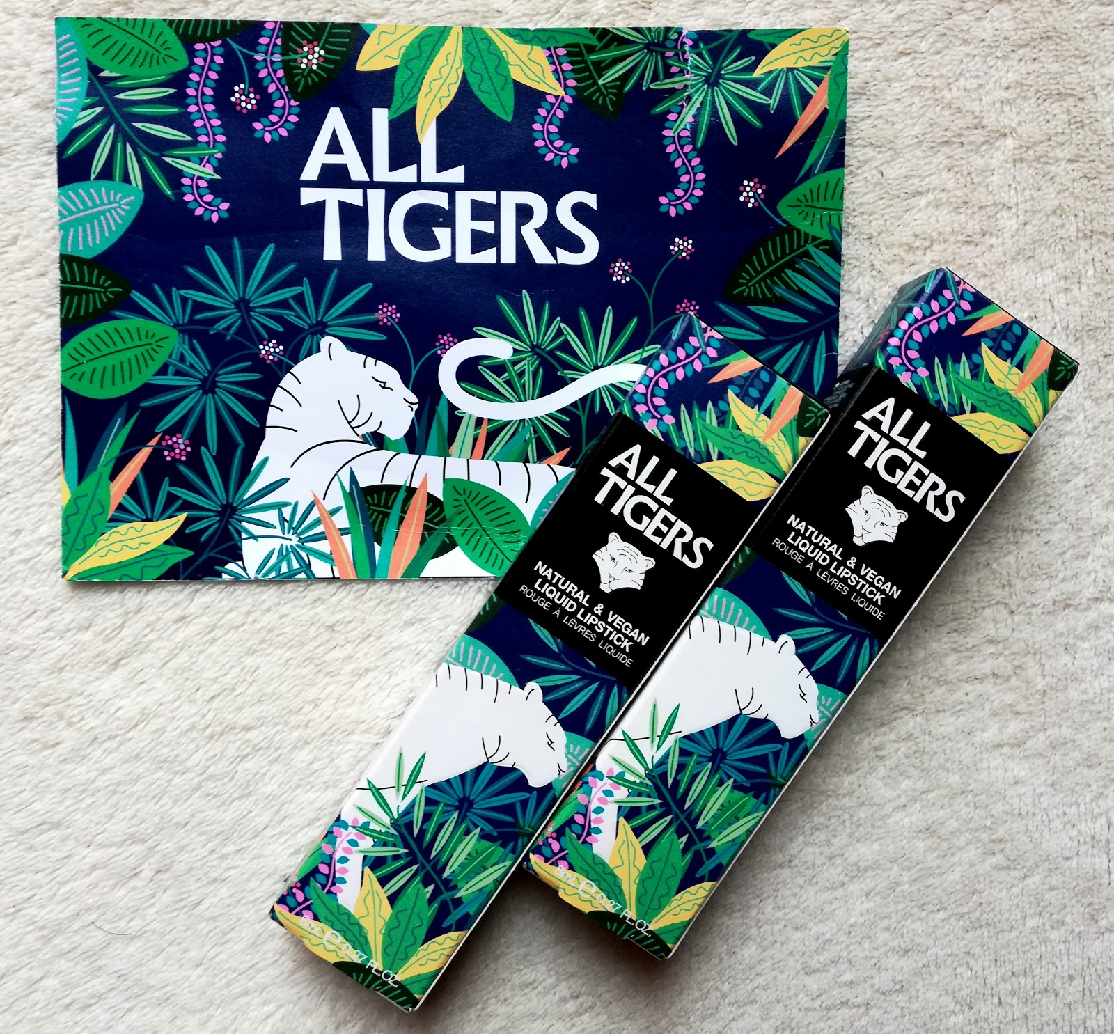 ALL TIGERS // Découverte de la nouvelle marque de lipstick mat, naturel & vegan