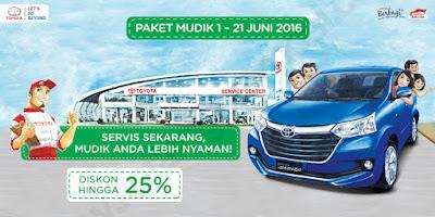 Promo Mudik 2016 dari Toyota