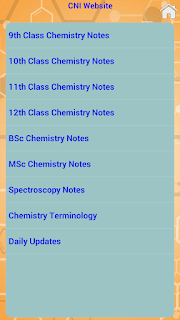 Complete Chemistry Classes and Degree Courses App for School, College and Univercity students