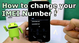 how to change imei on android phone