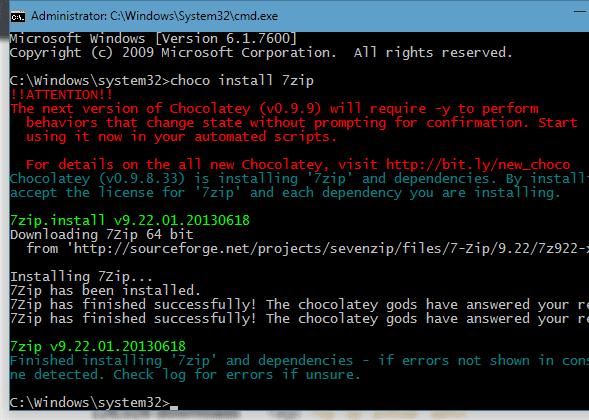 Cara Melakukan Download, Install, Update dan Uninstall Software Melalui Command Prompt