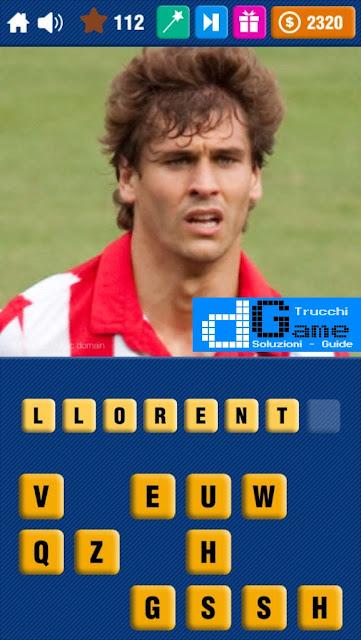 Calcio Quiz 2017 soluzione livello 111-120 | Parola e foto