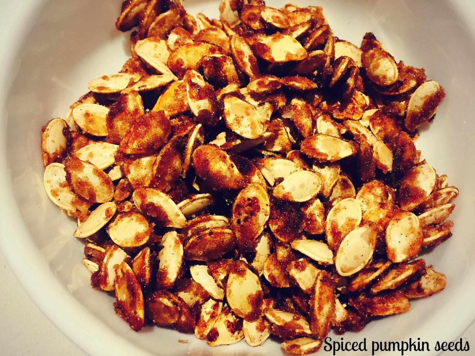it's my girls' world: Spiced Pumpkin Seeds