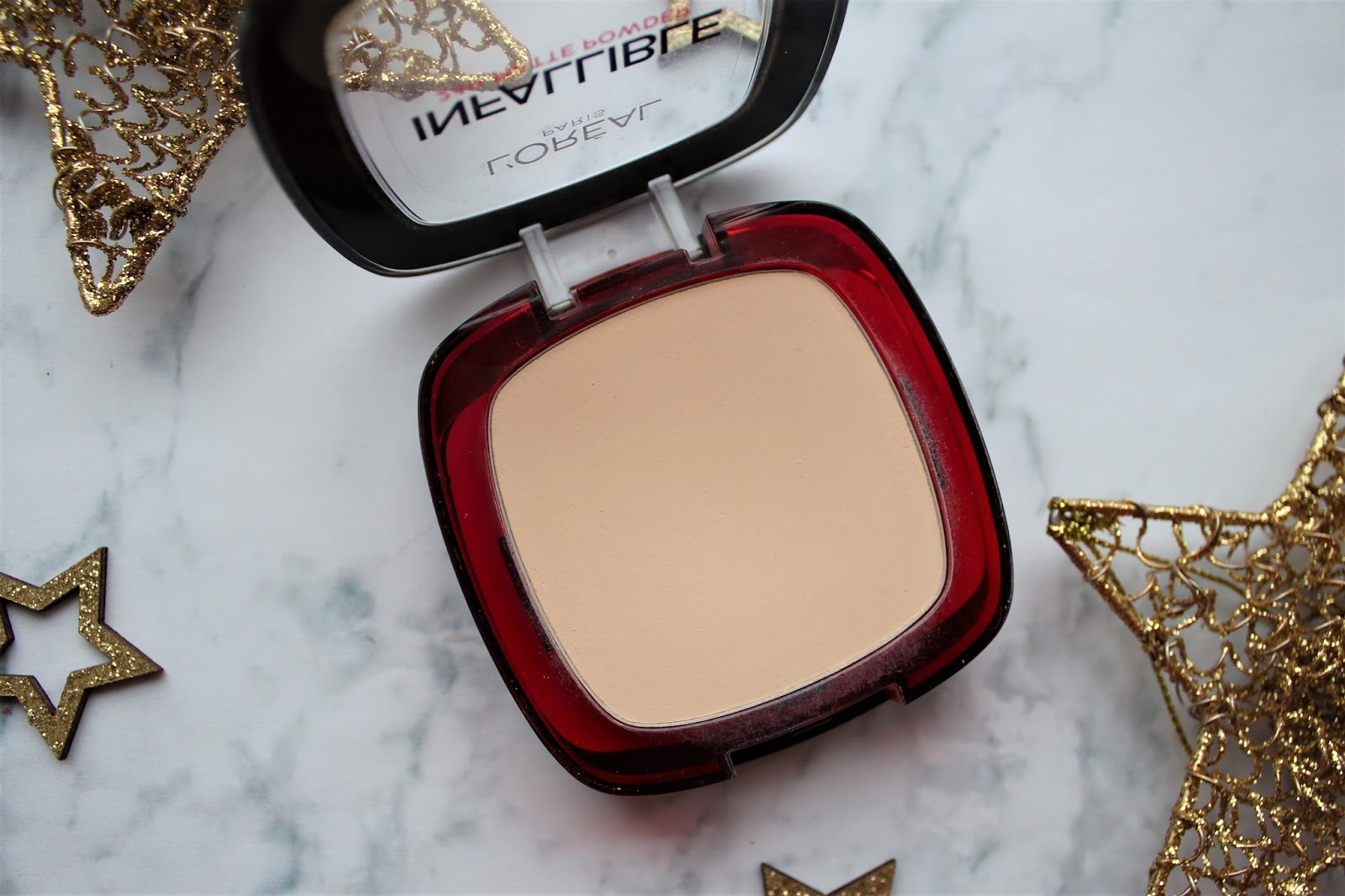 l'oreal infallible pressed powder review