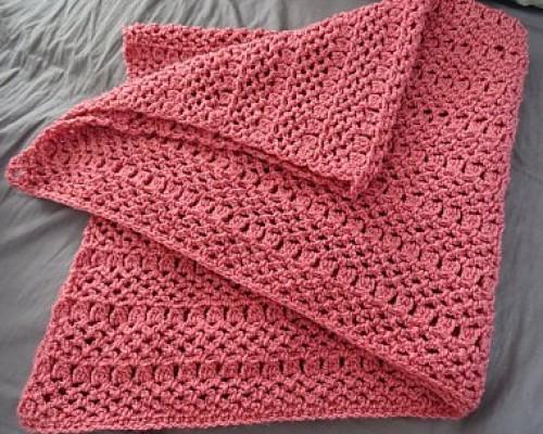 Elegant Baby Blanket - Free Pattern
