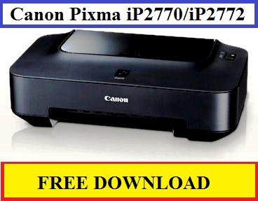 Canon Pixma iP2770 / iP2772 Driver