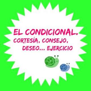 El condicional español ejercicio