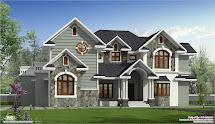 Sloping Roof Villa Design