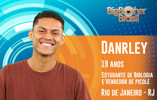 Instagram e Facebook do Danrlei do Big Brother