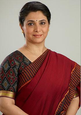 Biodata Supriya Pilgaonkar berperan sebagai Ishwari Dixit ( Ibunya Dev )