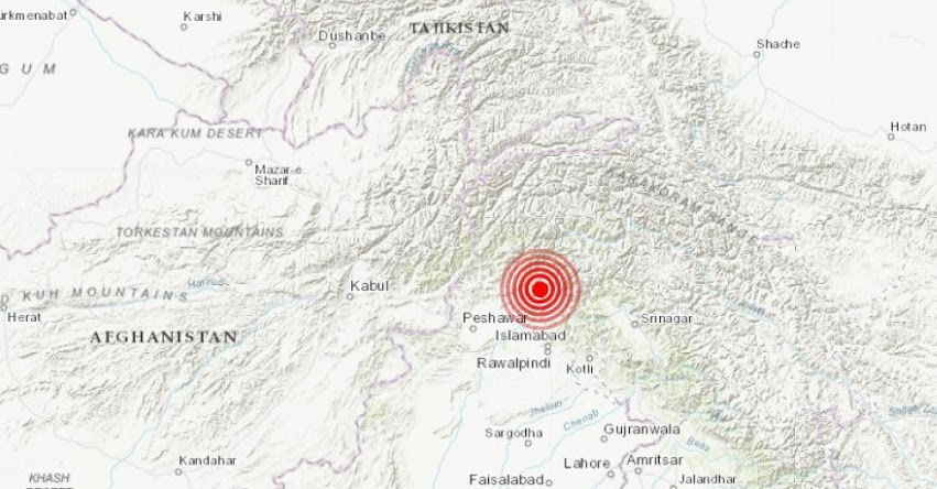 Terremoto en Pakistán de Magnitud 5.2 (Hoy Miércoles 12 Junio 2019) Sismo - Temblor - EPICENTRO - Battagram - USGS