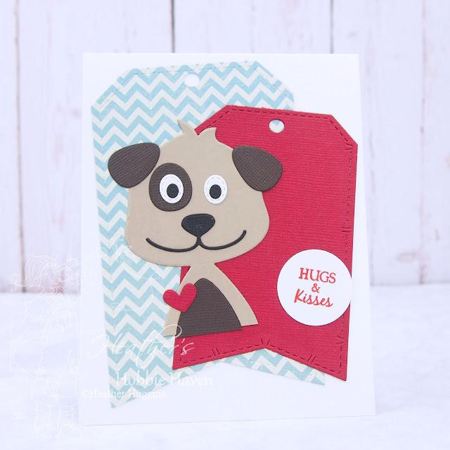 Heather's Hobbie Haven - CC Designs Puppy Accessories Die Card