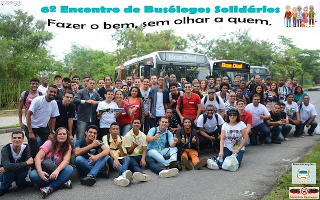 7º Encontro de Busólogos Solidários - Busólogos arrecadam doações para duas instituições nesta edição