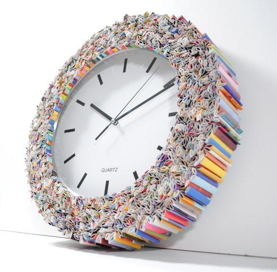 How to Recycle: Creative Wall Clock Arts