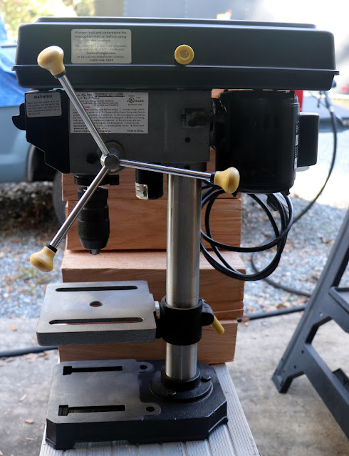 Harobor Freight - Central Machinery - Bench Top Drill Press