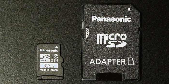 パナソニック「RP-SMGB32GJK」microSDHCカード本体