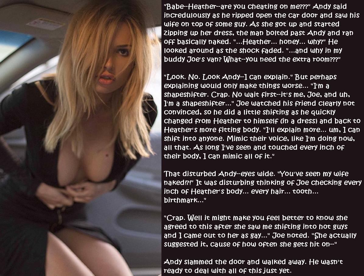 Body swap sexy stories