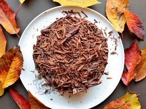Gâteau feuille d'automne {Lenôtre}