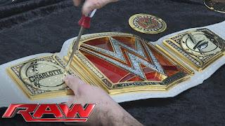 Divas Charlotte Flair WrestleMania 32 Raw New Championship Belt