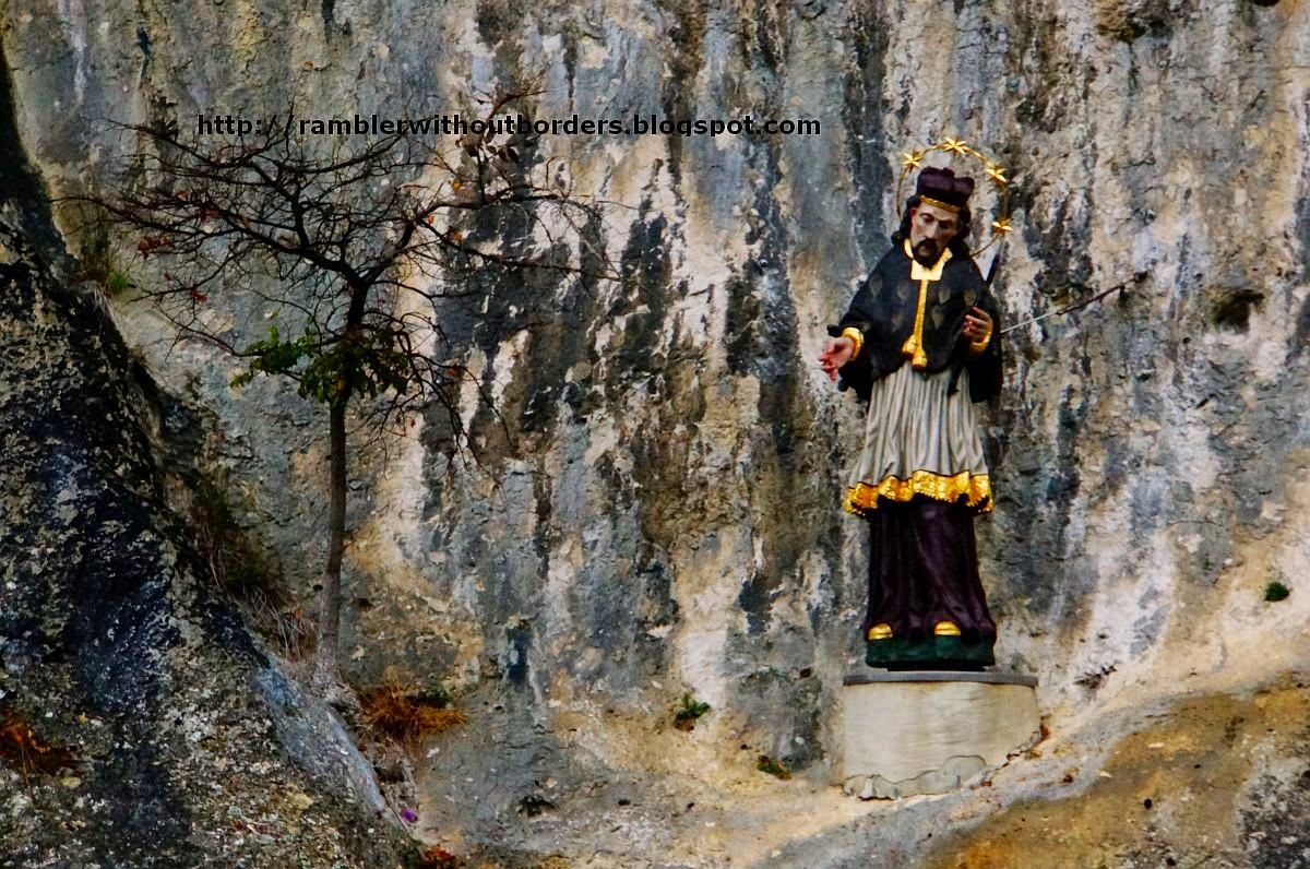 Statue of a bishop, Danube Gorge, Germany