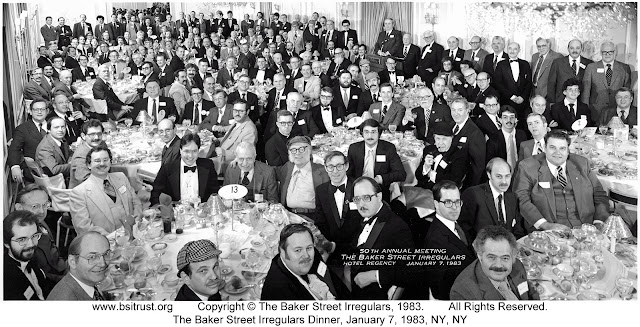The 1983 BSI Dinner group photo