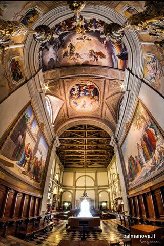 Interior del Duomo di Palmanova (Palmanova, Italia)