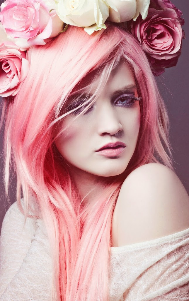 See more Pink Hair - Awesome! I would put some of this shade in my hair