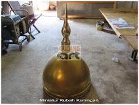 miniatur kubah masjid