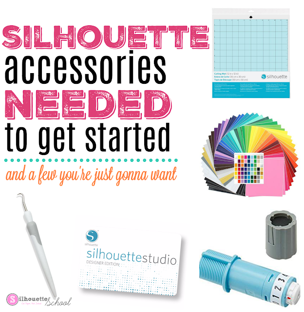 silhouette accessories,silhouette cameo getting started, get started silhouette cameo, silhouette cameo first project