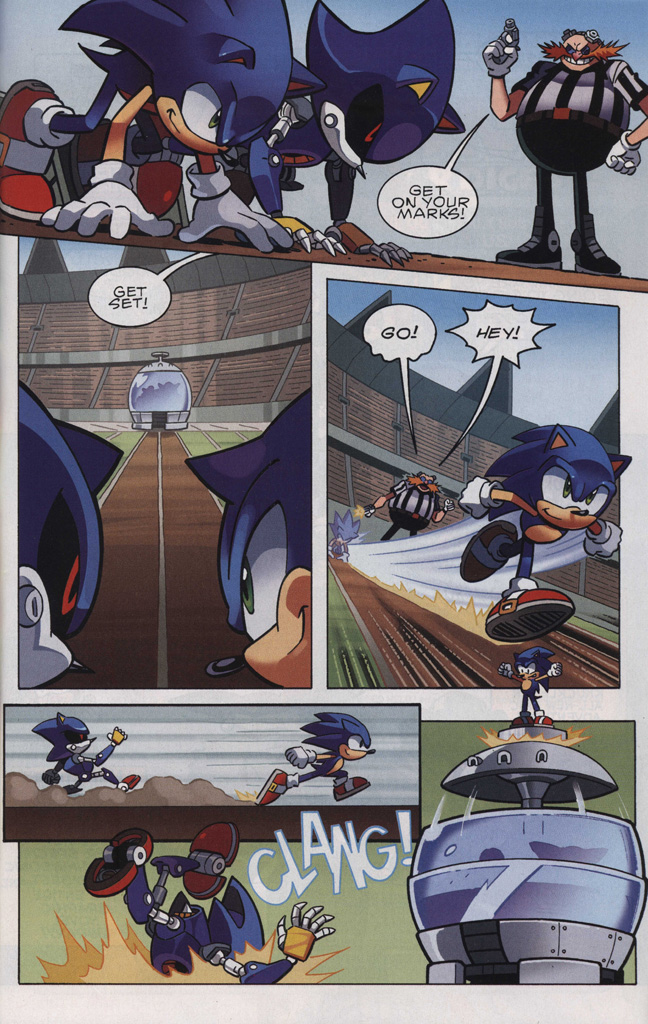 Read online Sonic The Hedgehog comic -  Issue #242 - 23