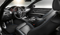 Sporty and professional: interior of the BMW 3 Series Coup' with M Sports Edition