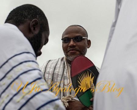 NNAMDI KANU Boasts, I'll Take Lagos By Storm, Nobody Can Stop Me; Arrest Me And See What Will Happen