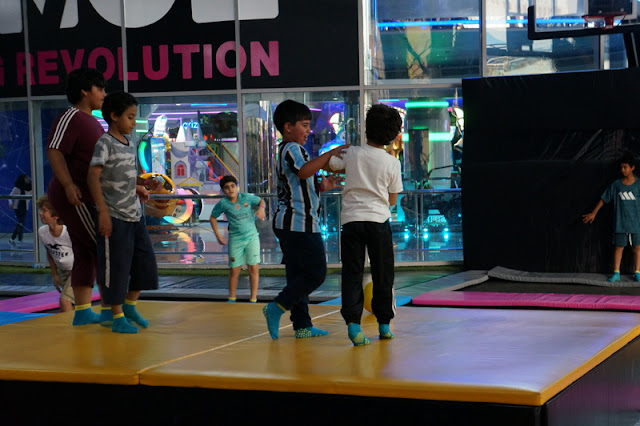 Bounce, no shopping Marina Mall em Abu Dhabi