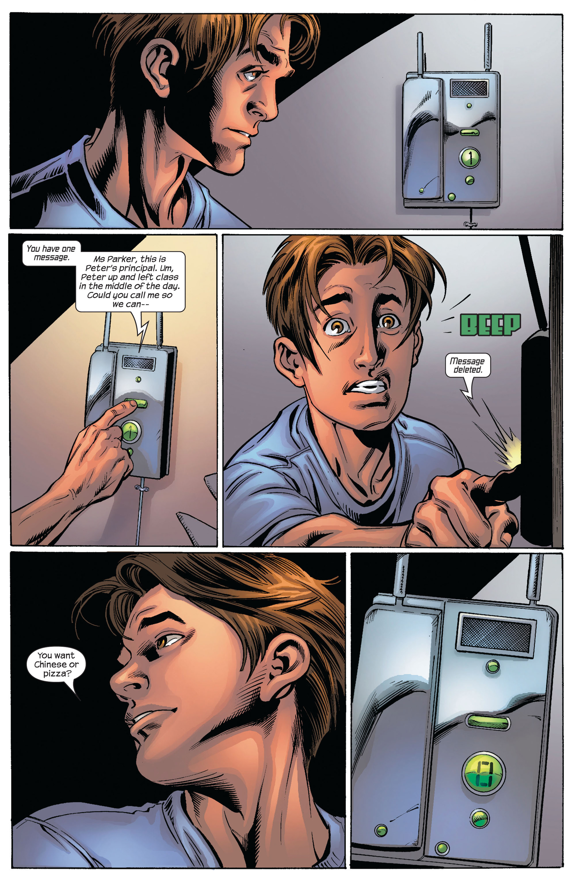 Read online Ultimate Spider-Man (2000) comic -  Issue #82 - 19