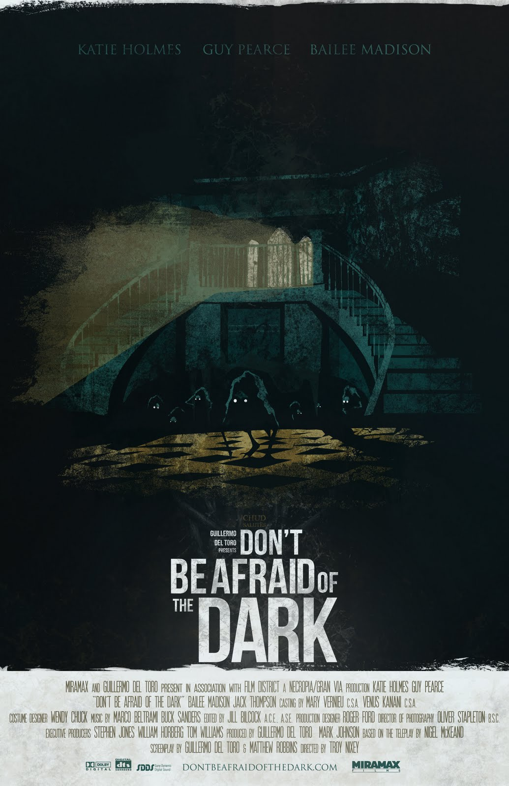 The Horror Hotel: Review : Don't Be Afraid of the Dark (2010)