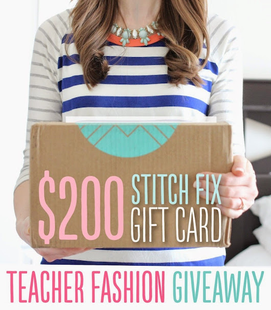 One More Amazing Giveaway for Teacher's Appreciation