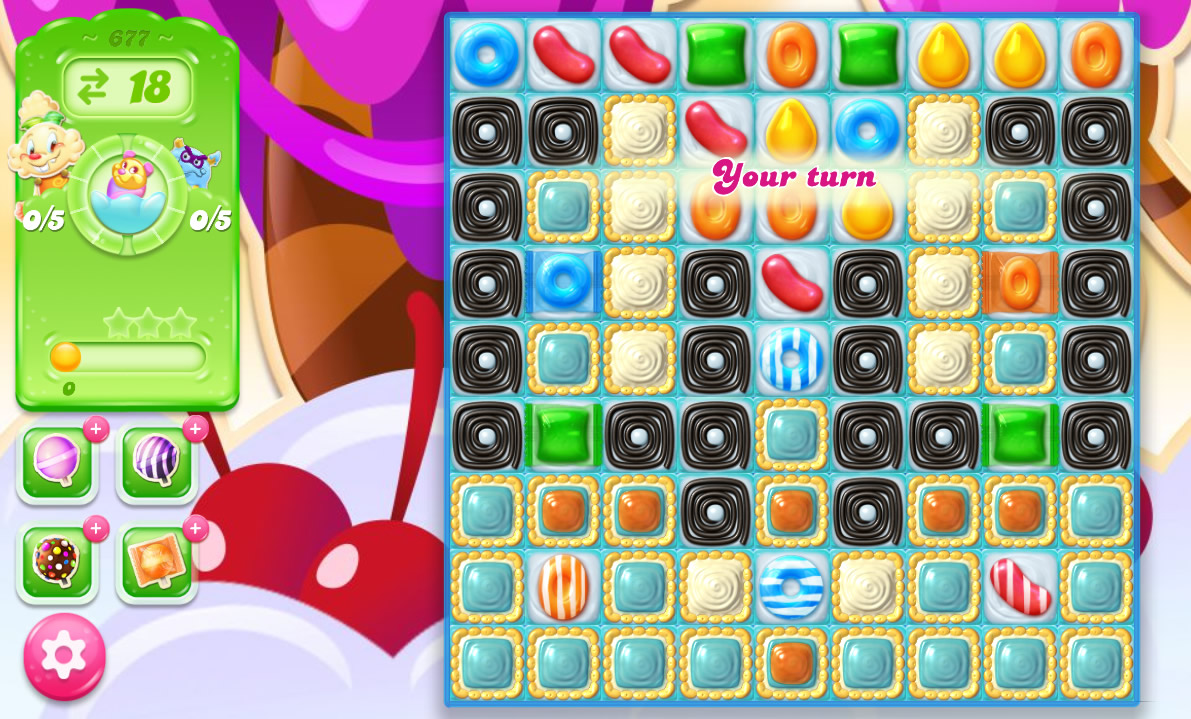 Candy Crush Jelly Saga level 677