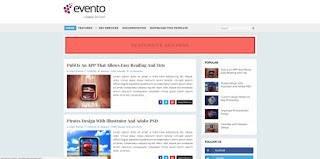 evento event blogger template