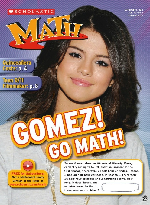 Homeschool Parent: Free Scholastic Math Magazine