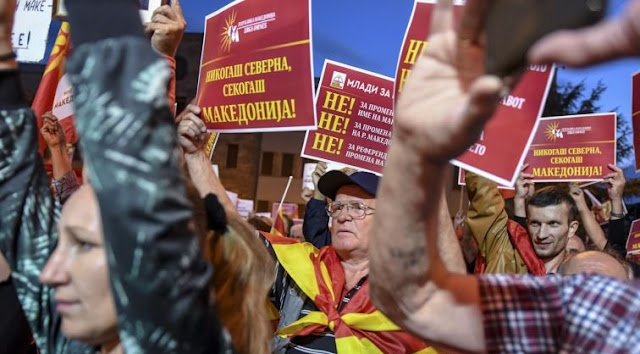 Opponents of the referendum in Macedonia using insulting words against Albanians