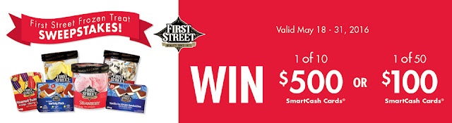 Smart & Final Stores are giving away lots of gift cards in the amounts of $100 and $500 to residents of Arizona, California and Nevada who live in their service area and you only have to enter once to be eligible to win!