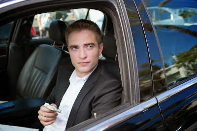 Robert Pattinson as Jerome in Maps to the Stars, the chauffer dating Agatha, Directed by David Cronenberg