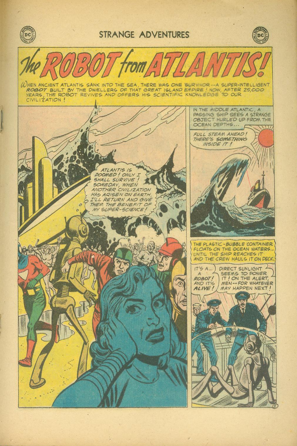 Strange Adventures (1950) issue 76 - Page 19