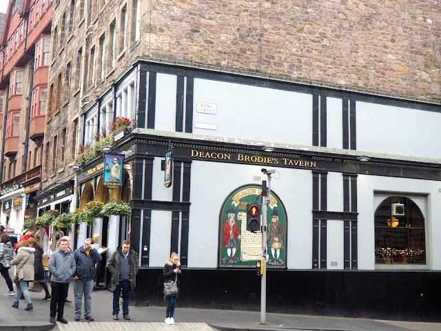 Deacon Brodie's Tavern, Royal Mile, Edinburgh
