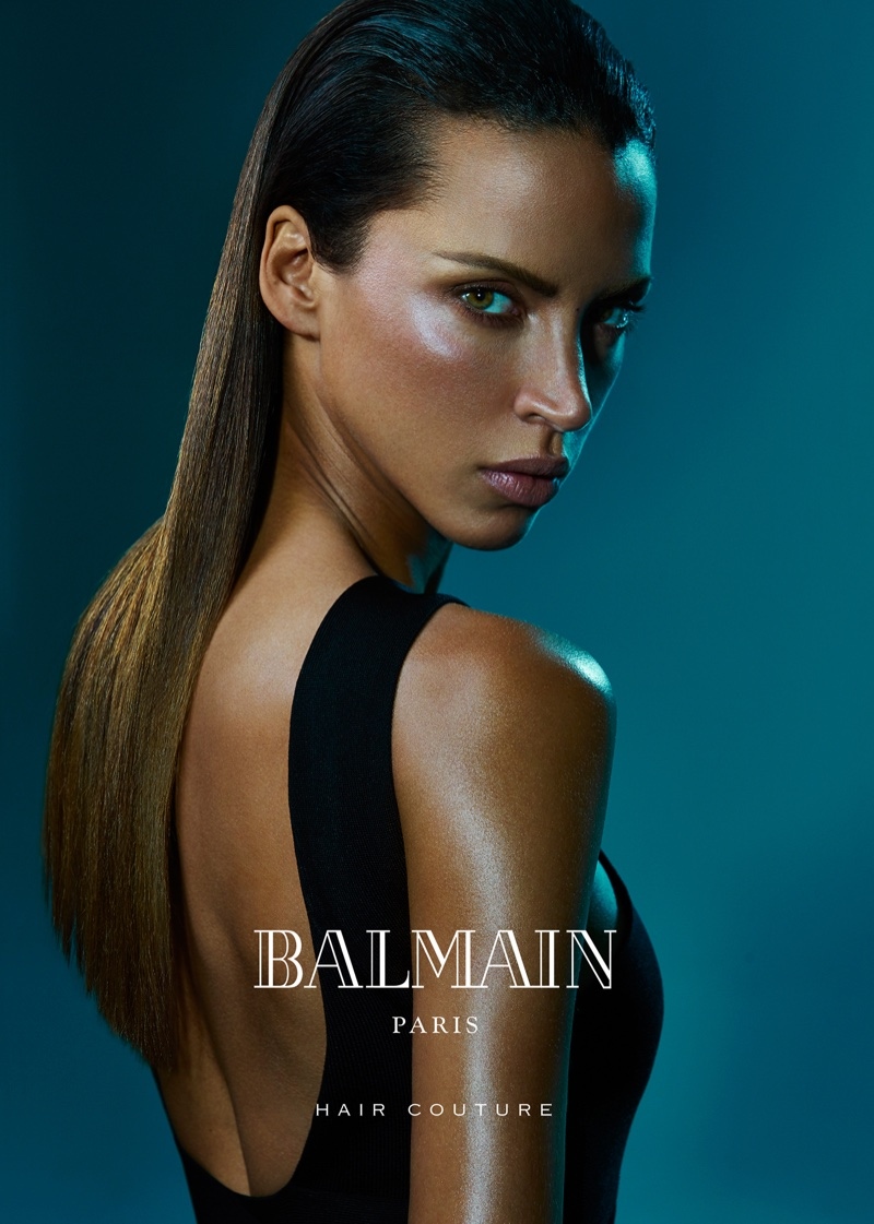 Balmain Hair Couture Campaign Summer 2016