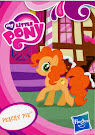My Little Pony Pony Collection Set Peachy Pie Blind Bag Card