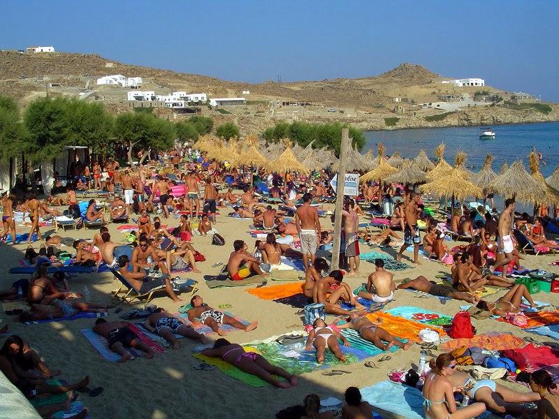 Mykonos. Playa Paradise
