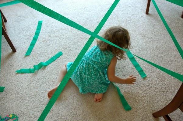jungle vine gross motor activity for kids