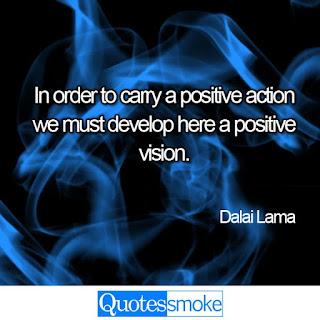 Dalai Lama positive quote