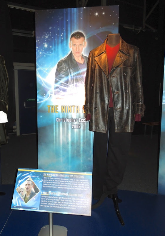 Christopher Eccleston 9th Doctor Who costume